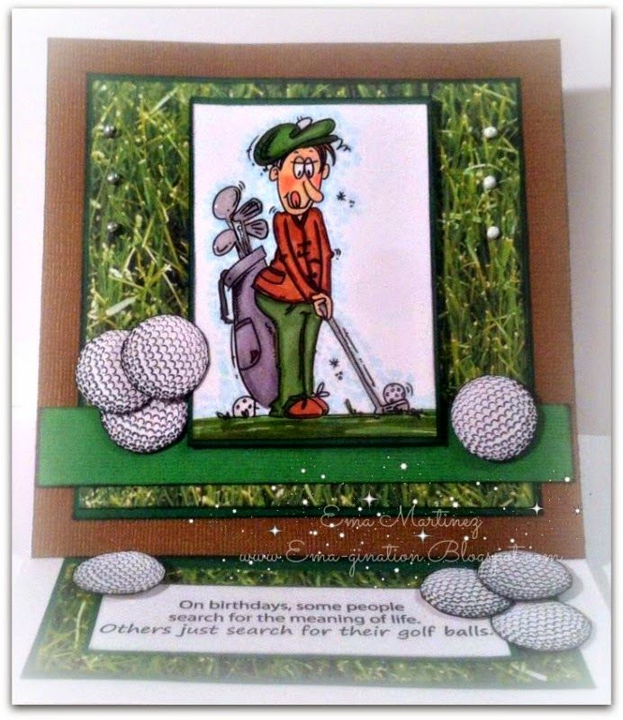 Looking for Balls by txgrrlnnh - Cards and Paper Crafts at Splitcoaststampers