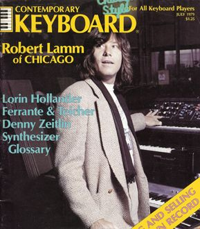ROBERT LAMM:  VOCALS/KEYBOARD  He wrote the early popular songs.  (25 or 6 to 4, Saturday in the Park,  Beginnins............)
