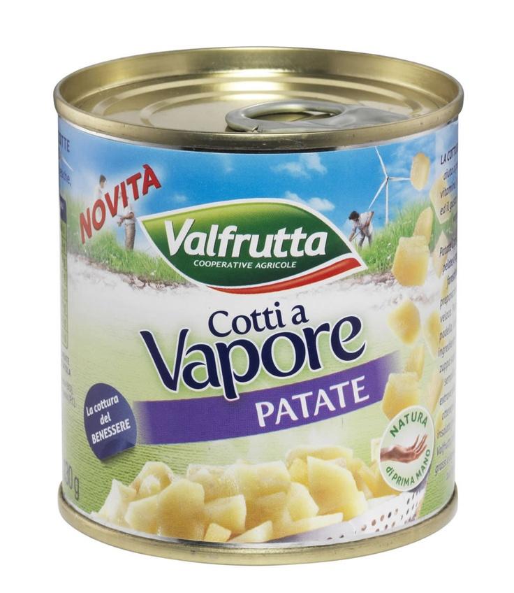 Cotti a Vapore: Patate | Già pelate e tagliate come faresti tu per una preparazione semplice e veloce. Puoi scaldarle in padella, utilizzarle per realizzare zuppe saporite o gustose insalate fredde.