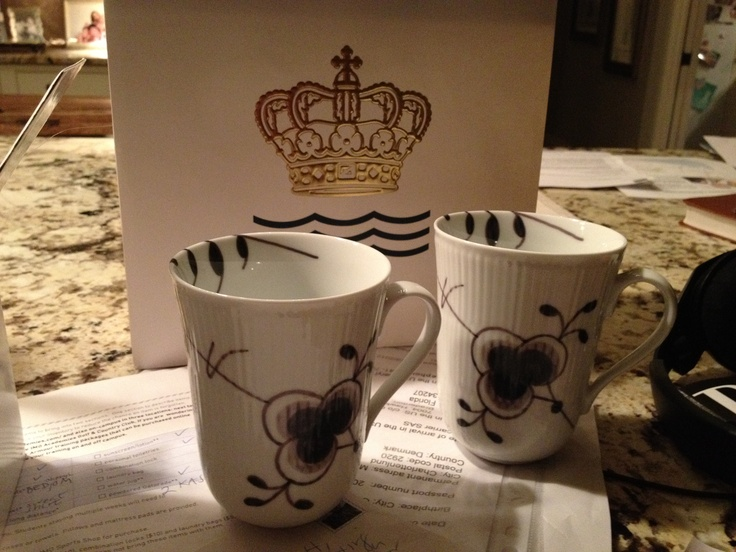 royal copenhagen tea cups