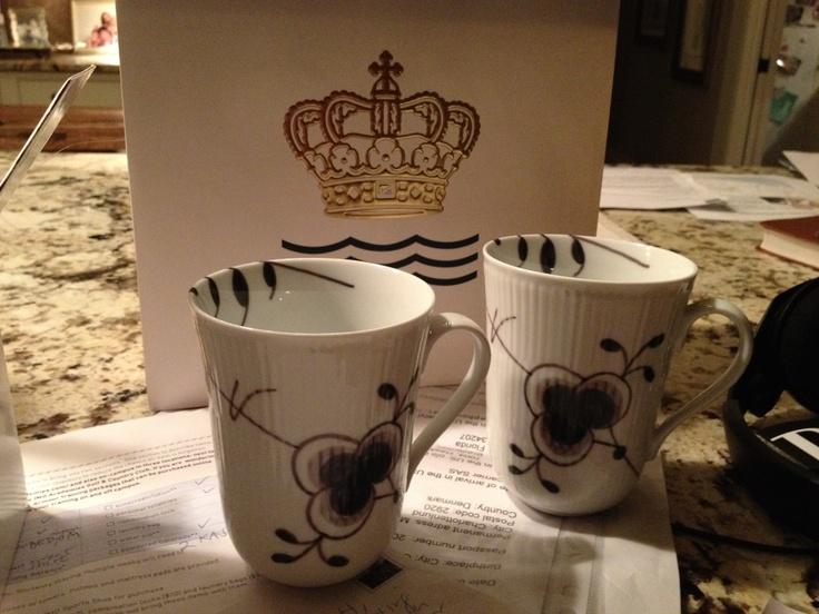 royal copenhagen tea cups