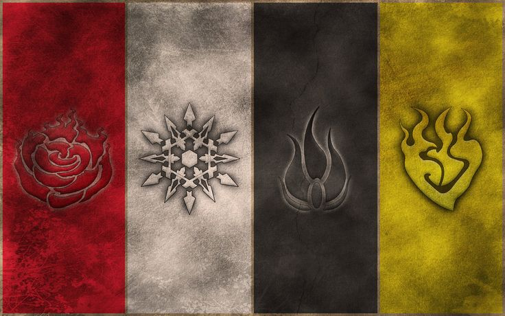 RWBY Symbols wallpaper by crypticspider on DeviantArt