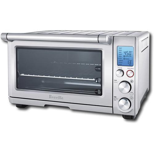 Breville Countertop Convection Oven Silver : Breville - Smart Oven Convection Toaster/Pizza Oven - Silver