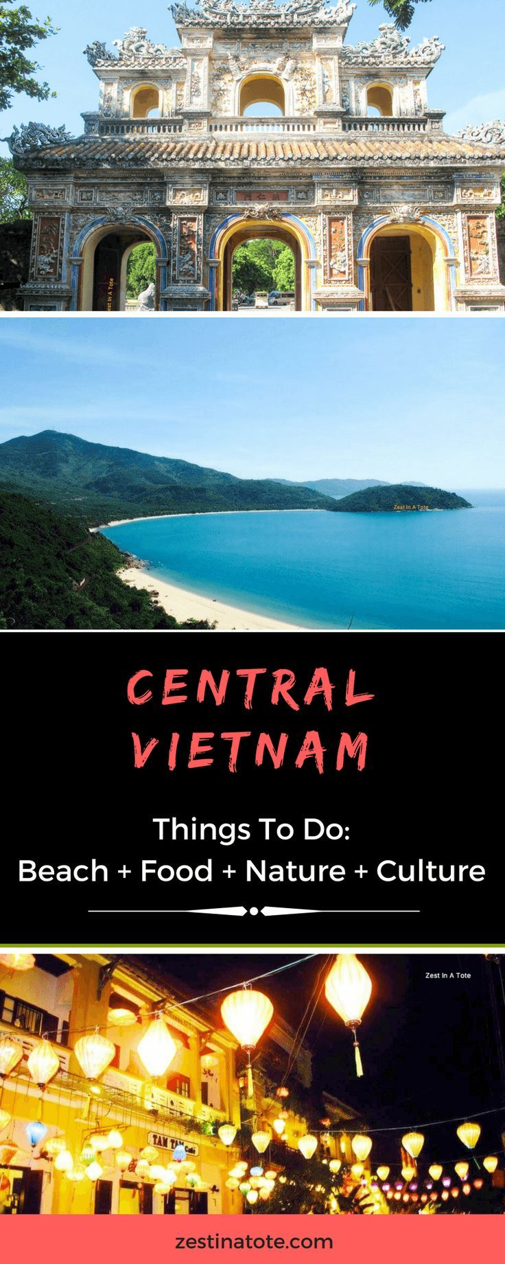 We spent 4 days in Central Vietnam – explored the cultural city of Hue, indulged in mouth-watering food in Hoi An, lazed around at the private beach of our luxury resort in Danang, and took a cycling tour to experience the village life beyond the cities.