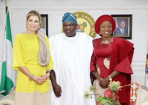 Dutch Queen Maxima's visit to Nigeria