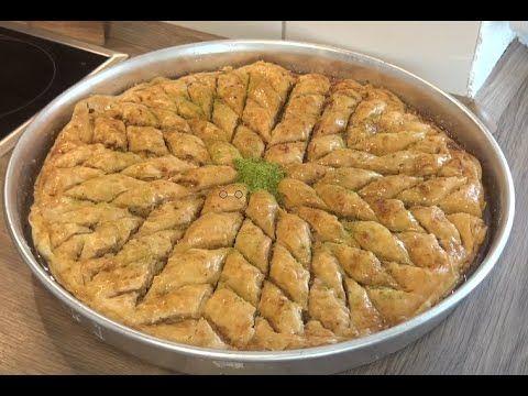Cevizli Ev Baklavasinin Tarifi(Tereyagli enfes bir lezzet)-Hatice Mazi - YouTube