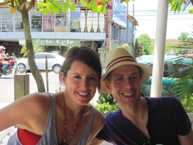Costa Rica for friends' wedding