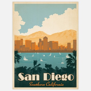 San Diego Harbor now featured on Fab.