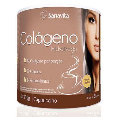 Compre Colágeno Cappuccino da Sanavita com o melhor preço. - Natue
