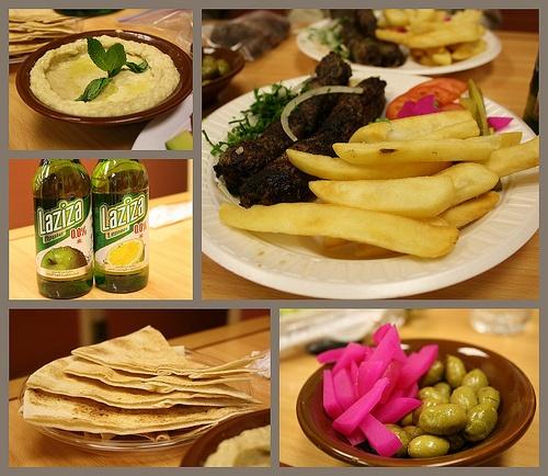 how to make lebanese food in arabic