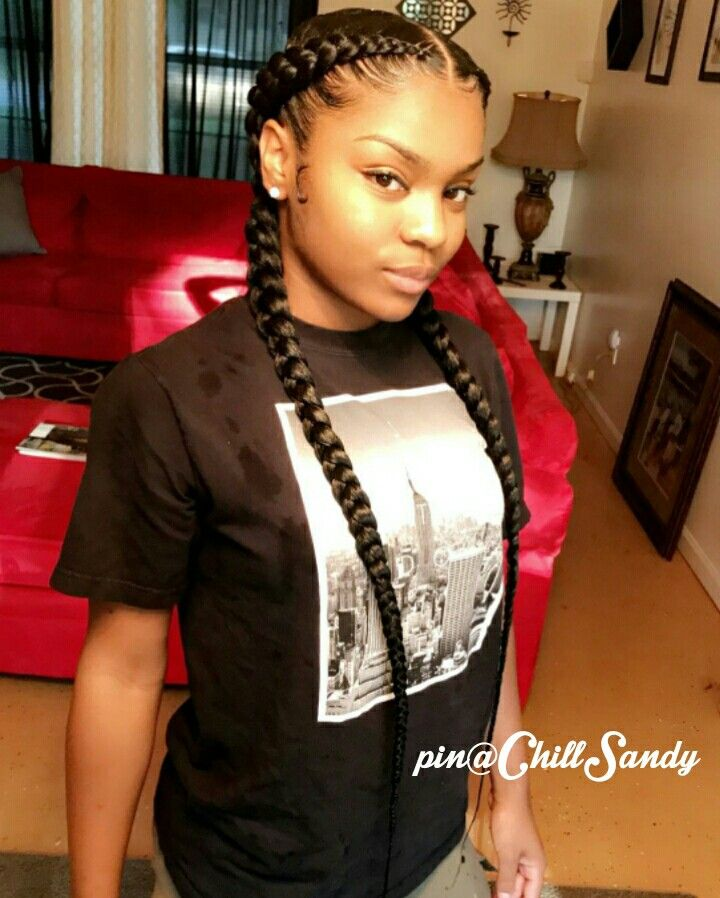 Pin By П��👑nia👑🌹 On H A I R Two Braid Hairstyles Two