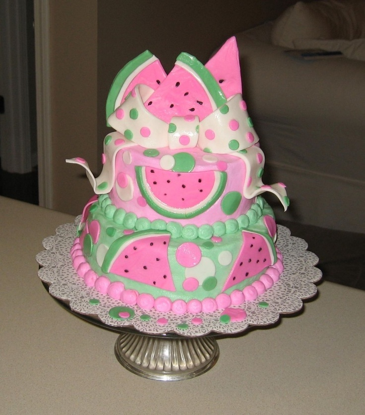Cakes For Babies Pictures