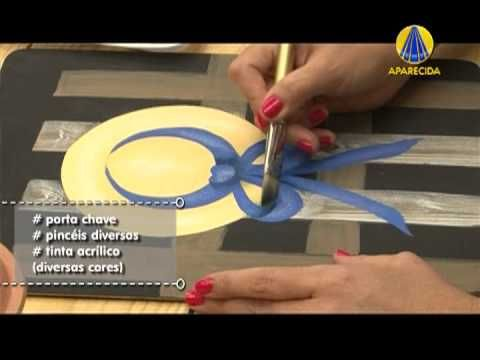 ▶ Tudo Artesanal | Pintura Gestual - Chapéu por Diná Rocha - 14 de Maio de 2013 - YouTube