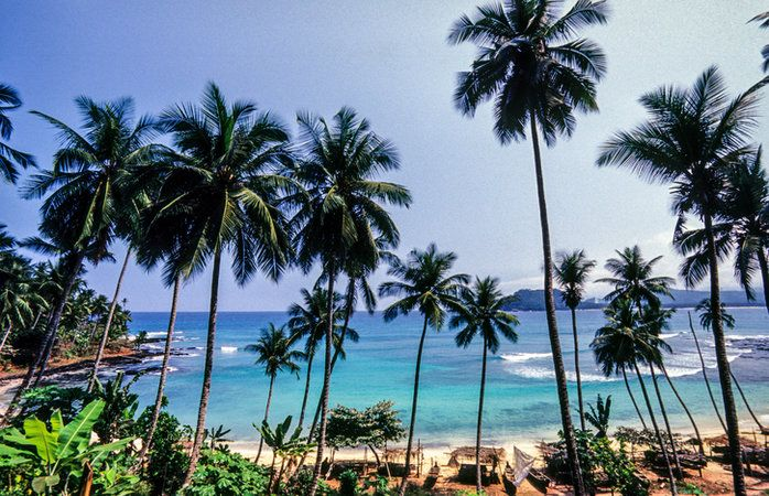 Ilhéu de Rolas, - São Tomé e Príncipe