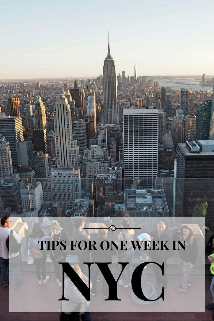 One week in NYC