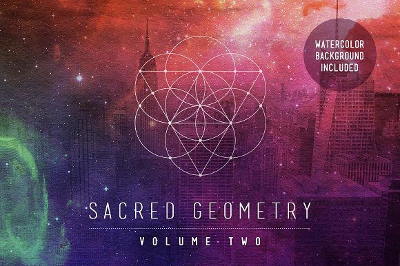 Sacred Geometry Vector Set Vol. 2 by skyboxcreative on @creativemarket