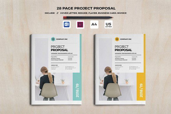Web Design Proposal by Occy Design on @creativemarket #ProposalTemplate #design