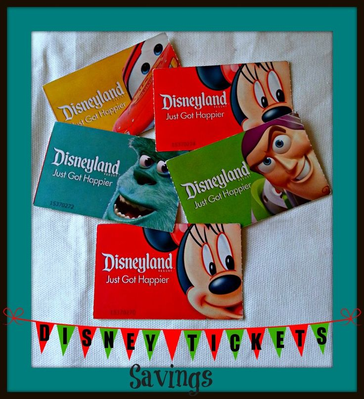 Disneyland Ticket Discounts - How to Save On Getting Into the Parks! - Thrifty NW Mom