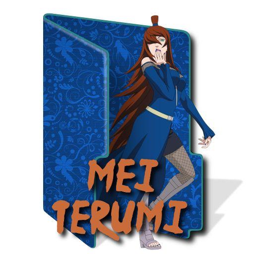 Mei Terumi Character Folder Icon [ICO] by RhysC24