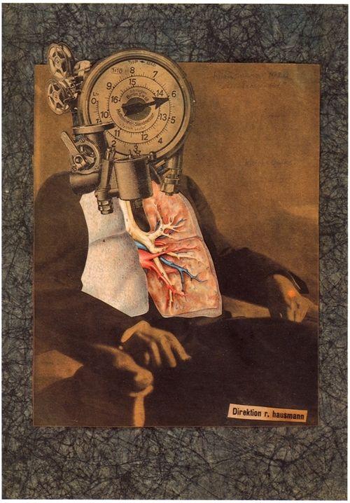 raoul hausmann self portrait of the dadasoph 1920. Black Bedroom Furniture Sets. Home Design Ideas