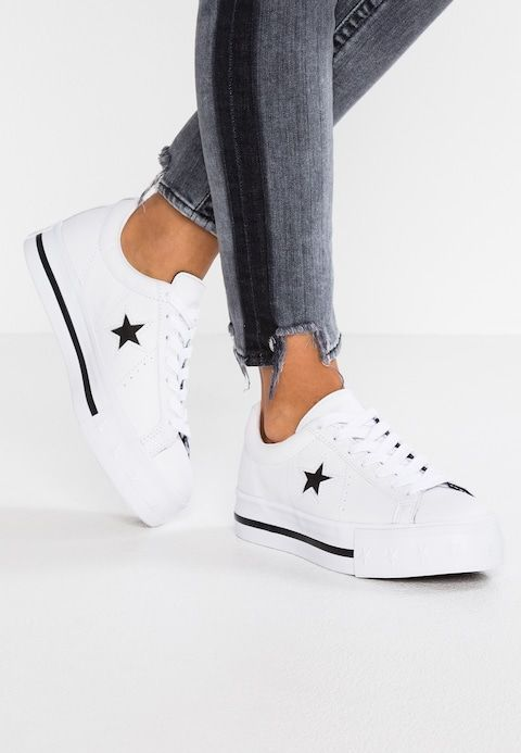 nuovo stile 3d3f0 fd7f5 ONE STAR PLATFORM - Sneakers basse - white/black | foot ...
