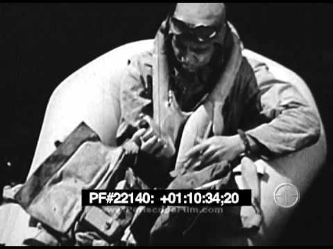 Land and Live in the Jungle for World War 2 Airmen - Restored 1943 - YouTube