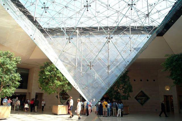 REVISTA DIGITAL APUNTES DE ARQUITECTURA: LA PIRAMIDE DE LOUVRE - Arquitecto Ieoh Ming Pei