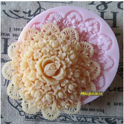 топ качества продуктов силикона fondant формы розы торт шоколадный бисквит формы для выпечки формы