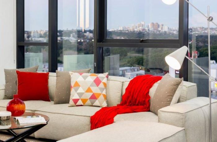 Selling house can be a cumbersome job. To increase the value of the house, #propertystyling overall increases the value of the property. While decorating a living room, colour plays a significant role in beautifying it. Adding colour co-ordinated cushions to the sofa enhances the overall look of the room.