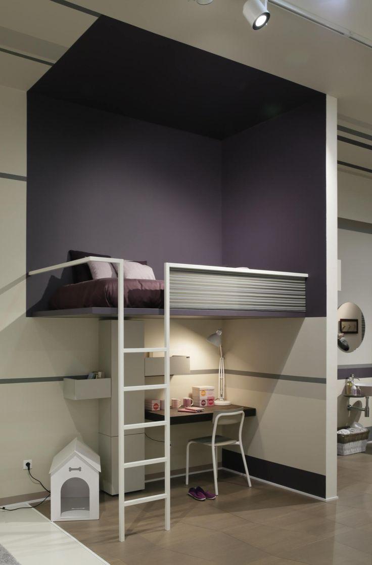 Oltre 25 fantastiche idee su camera da letto a soppalco su - Camera da letto soppalcata ...