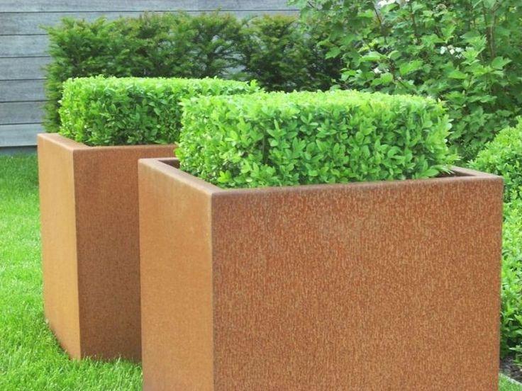 De cortenstaal plantenbak Andes is een stoere plantenbak met een prachtige tijdloze uitstraling. De natuurlijke kleur en de dubbel omgezette bovenrand geven de plantenbak een luxueuze en tijdloze uitstraling
