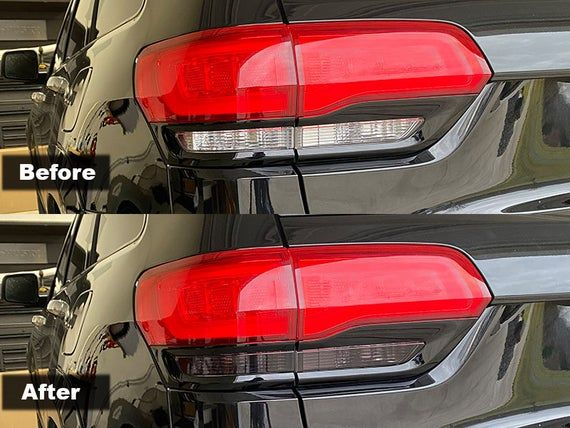 Crux Motorsports Precut Turn Signal Reverse Light Tint For 2014