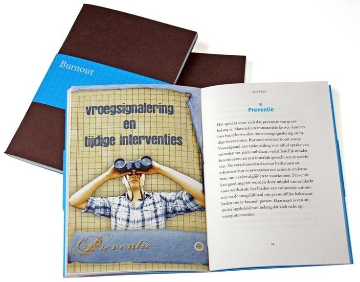 Brochure met buikwarmertje voor de Werkende Mens door Oma'w Huisje gedrukt door Drukkerij Elhapé