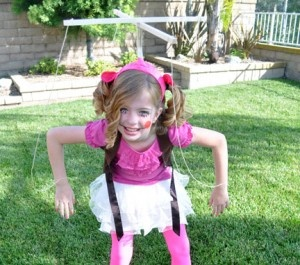 You can create this super cute homemade costume for really cheap - and have a blast crafting it with your tween.