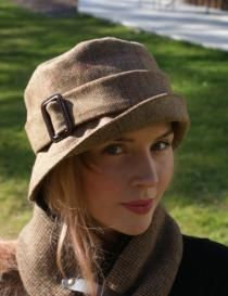 Miss Audrey £85  Tweed, lined with silk Momo Chapeaux | Hats