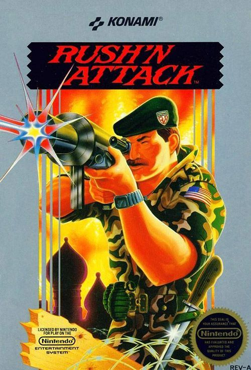Play Rush'n Attack Game on Nintendo NES Online in your Browser. ➤ Enter and Start Playing NOW!