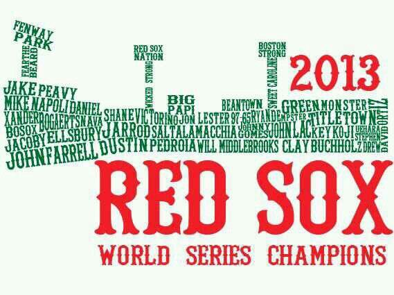 Red Sox 2013 WS champions