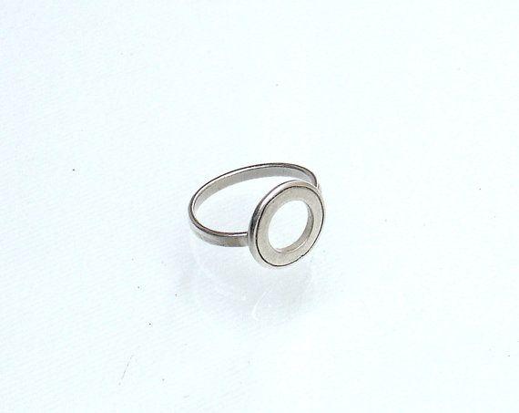 Circlular Ring  Empty Circle Ring  Minimal by profoundgarden
