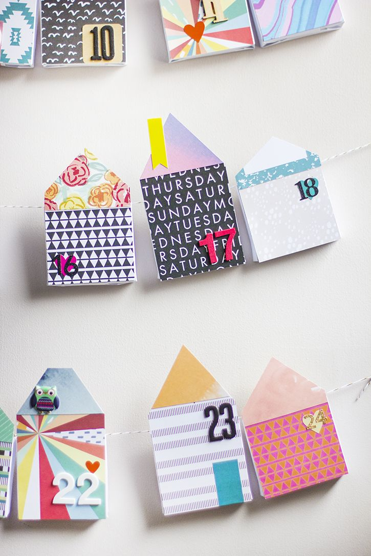 Paper Houses Advent Calendar