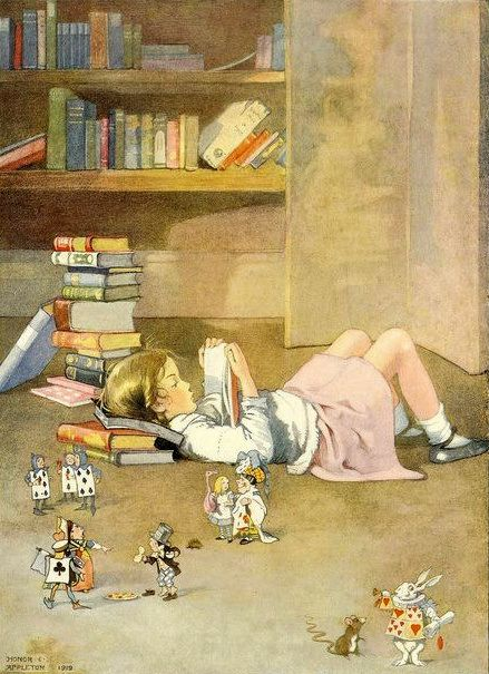 Illustration by Honor C. Appleton Leyendo...
