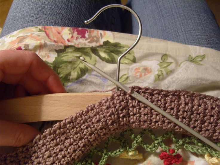 Hello. Here's a little 'how to' for the crochet hangers I've designed after being inspired by the ones in Lucy's Japanese craft book . ...