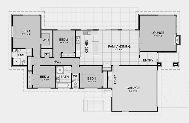 David Reid Homes - Contemporary 7 specifications, house plans  images