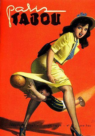 Paris Tabou - By Gino Boccasile (1901-1952).