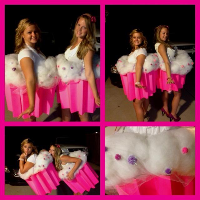 Homemade Cupcake costumes, yummy!!