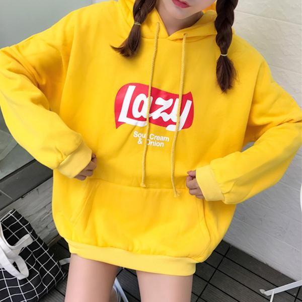 Lazy AF Hoodie Sweater - TotallyAwkweird