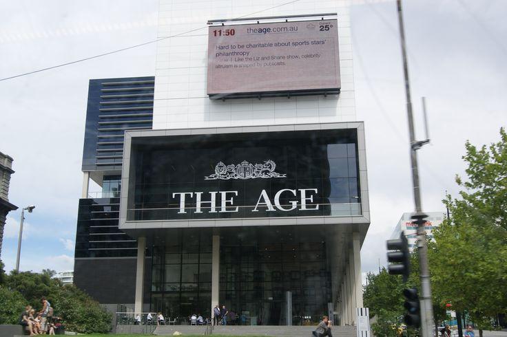 #Travel - The Age building, #Melbourne, #Victoria, #Australia. Photo: D Rudman