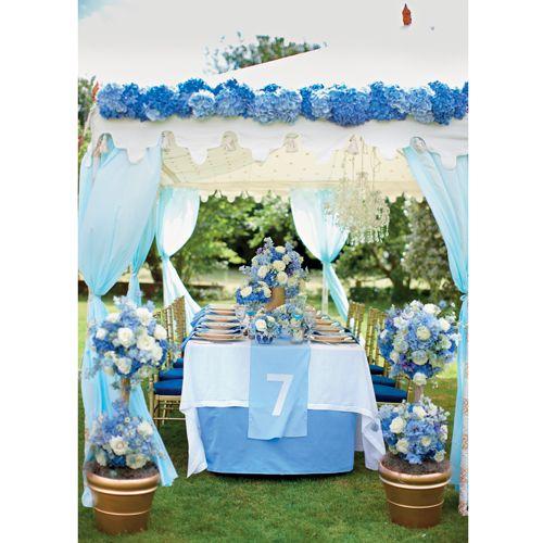 あなた色の、カラフルなウェディングテーブル。【BLUE PERIOD】人生の出航を祝う幸運のサムシングブルー。