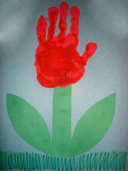 Jarní tulipán