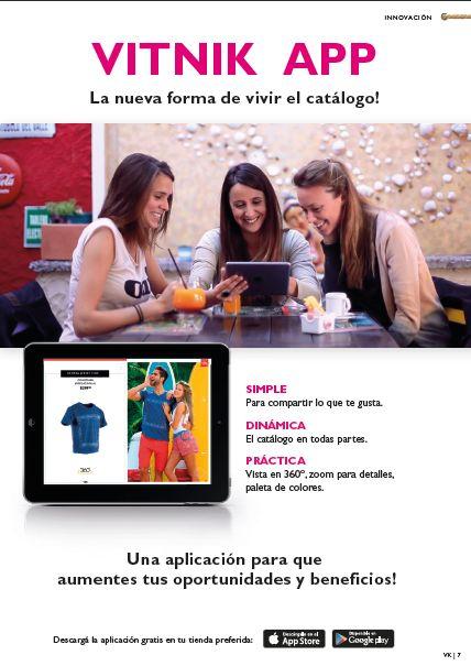 ¿Ya tenés la aplicación en tu tablet y celular? Descargá VK App y disfrutá la nueva forma de vivir el catálogo! https://vimeo.com/106490628
