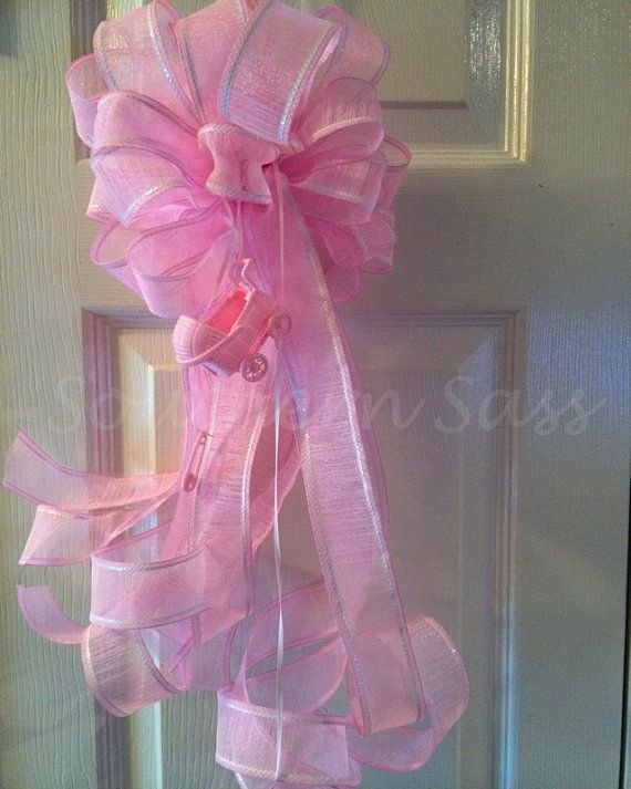 Pinterest the world s catalog of ideas for Baby shower door decoration